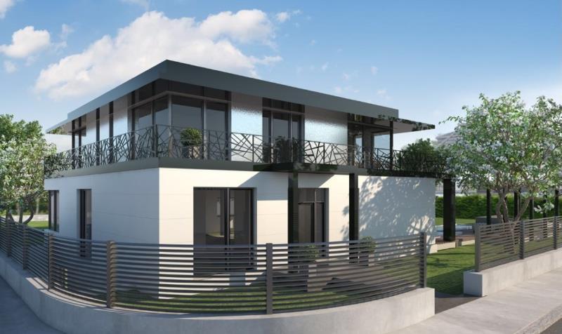 Projektierter Neubau Exclusive Einfamilienhaus Villa Mit Aufzug Und