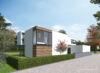 Einzigartiges Baugrundstück mit Baugenehmigung in Villenlage von Alt-Meererbusch und Rheinnähe - Visualisierung Frontansicht