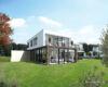 Einzigartiges Baugrundstück mit Baugenehmigung in Villenlage von Alt-Meererbusch und Rheinnähe - Visualisierung Rückansicht 2