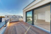 Repräsentatives Neubau-Penthouse mit EBK, Klimaanlage und Dachterrasse in den Parkterrassen Meerbusch - Dachterrasse Ansicht 2