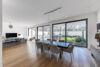 Exklusive Garten-Maisonette-Wohnung mit Einbauküche in stilvollem Stadtpalais am Malkastenpark - Essbereich Ansicht 1