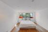 Exklusive Garten-Maisonette-Wohnung mit Einbauküche in stilvollem Stadtpalais am Malkastenpark - Gäste- Arbeitszimmer