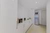 Exklusive Garten-Maisonette-Wohnung mit Einbauküche in stilvollem Stadtpalais am Malkastenpark - Hauswirtschaftsraum EG